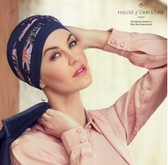Bonnet chimio hindi bambou, forever, christine headwear
