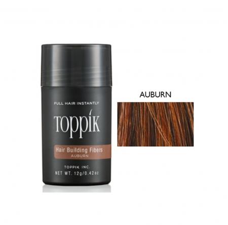 Poudre Toppik, masquer perte cheveux, calvitie, auburn, homme, femme, Elite Hair International