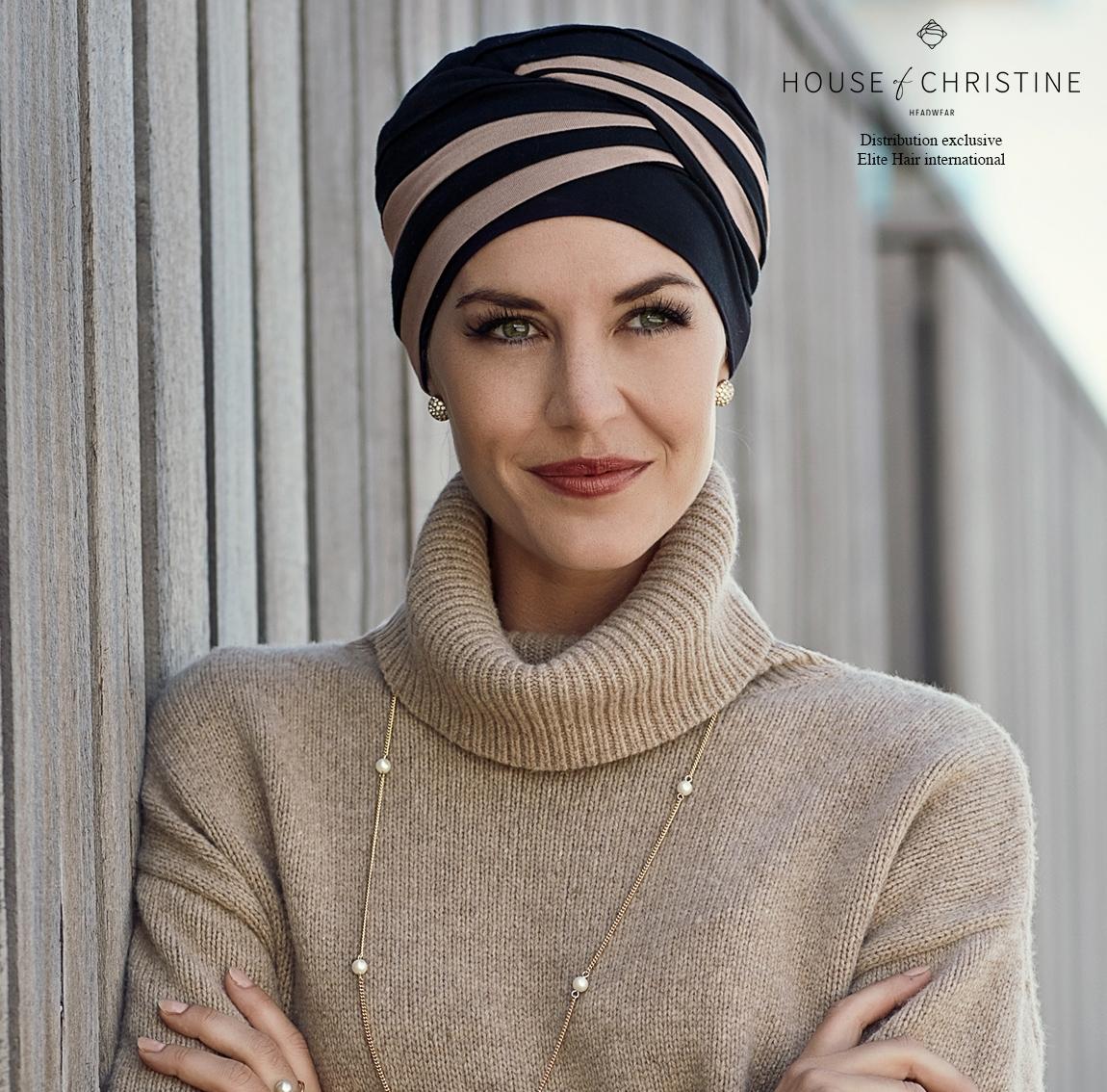 Bonnet chimio hindi bambou, java, christine headwear