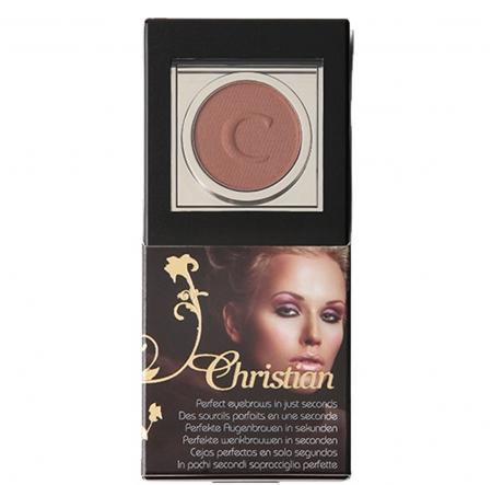 Kit maquillage sourcils, semi-permanent, redessiner sourcils cancer, bronze, Christian Cosmetics