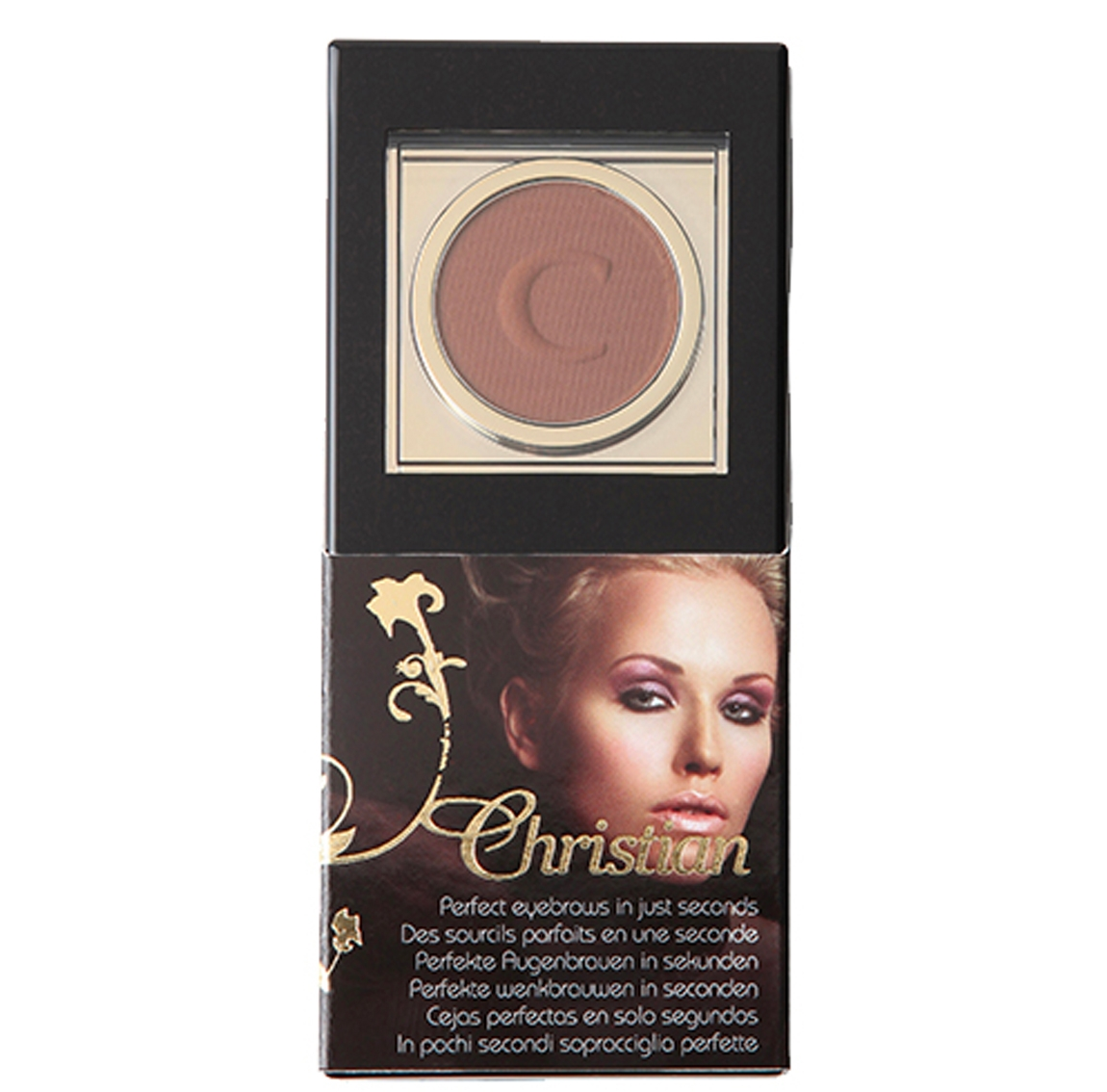 Kit maquillage sourcils, semi-permanent, redessiner sourcils cancer, irid brown, Christian Cosmetics