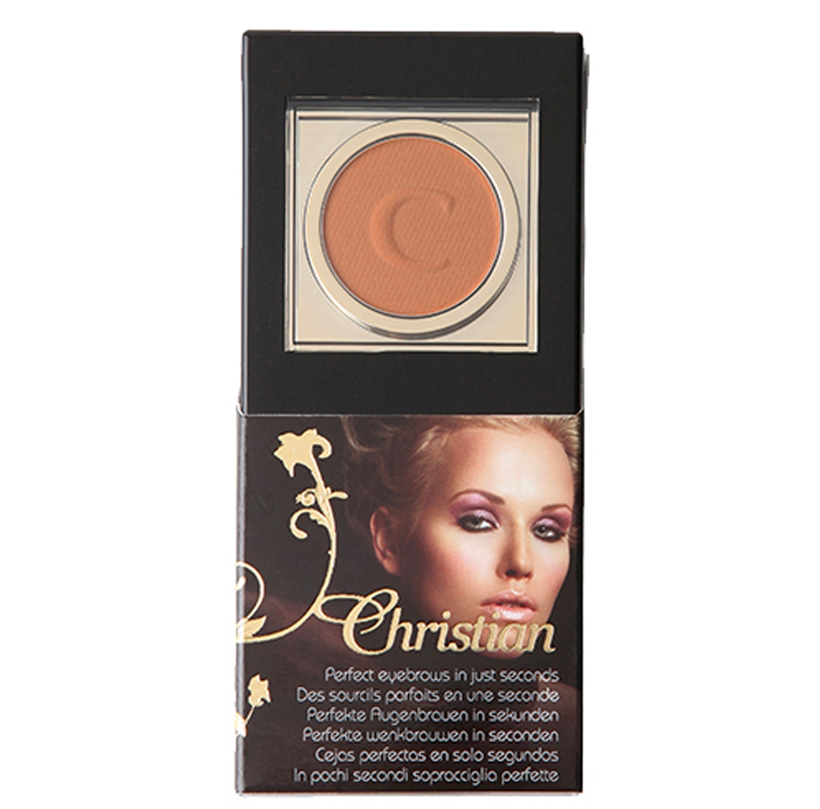 Kit maquillage sourcils, semi-permanent, redessiner sourcils cancer, brown, Christian Cosmetics