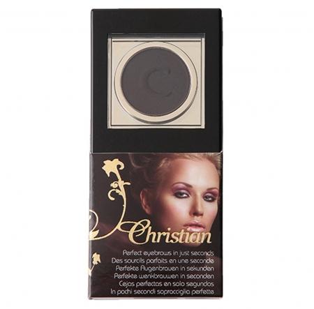 Kit maquillage sourcils, semi-permanent, redessiner sourcils cancer, noir, Christian Cosmetics