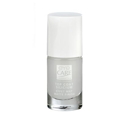 Top Coat Silicium Effet Mat, ongles abîmés, ongles fragiles, cancer, Eye Care Cosmetics