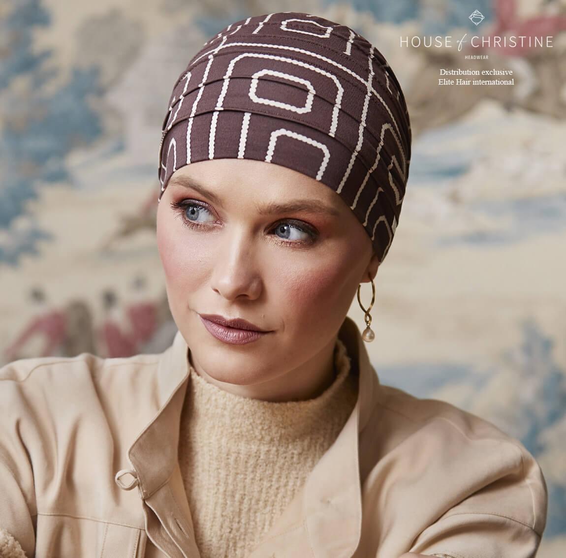 Bonnet chimio, bonnet zen bambou, aventura, Christine Headwear