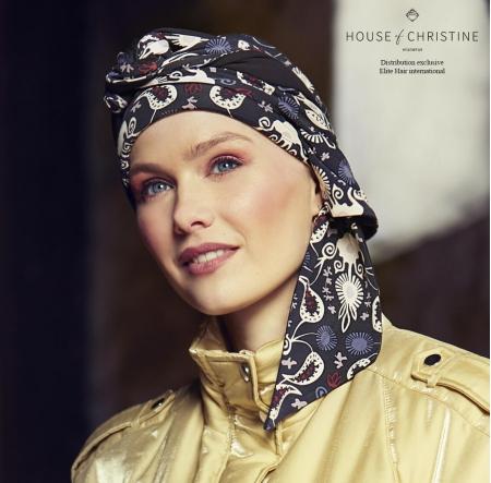 Turban chimio, turban-foulard bambou, bambou Caretech, favori, Christine Headwear