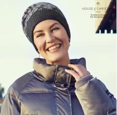Bonnet chimio cachemire merinos, courchevel, christine headwear