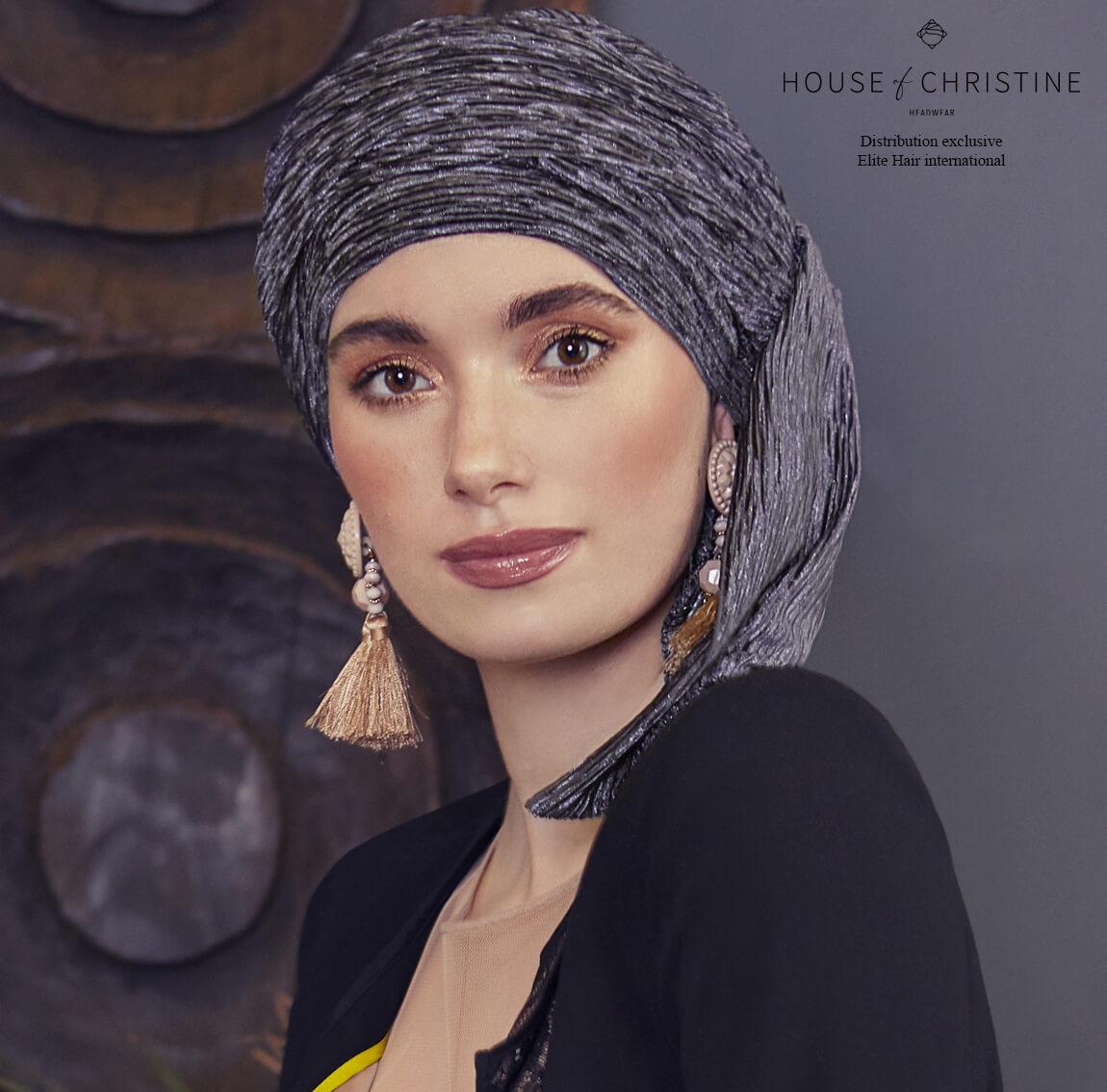 Bonnet chimio boho foulard amovible, rêverie, christine headwear