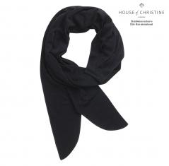 Foulard chimio boho, so black, christine headwear