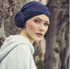 Turban chimio zuri, navy, christine headwear