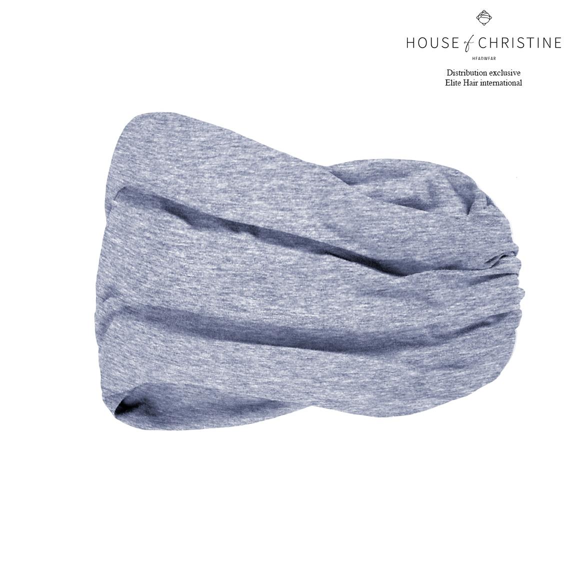 Bandeau chimio karma, rêve bleu, christine headwear