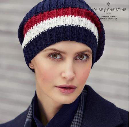 Bonnet chimio, bonnet viva, cambridge, Christine Headwear
