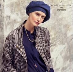 Béret chimio, Béret Viva, Icone Denim, Christine Headwear