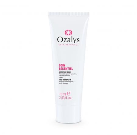Dentifrice doux, cosmétique cancer, Ozalys
