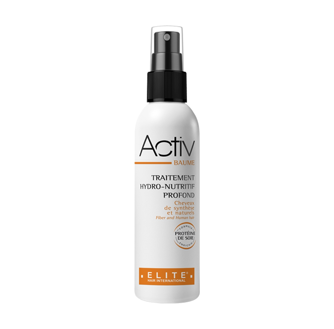 Activ baume, entretien perruque synthétique naturelle, elite hair international