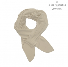 Foulard chimio boho, ivoire, christine headwear