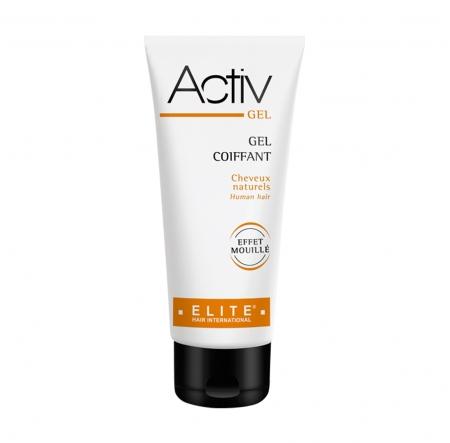 Activ gel, entretien perruque naturelle, elite hair international