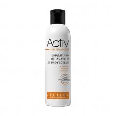 Activ hair shampoo, entretien perruque naturelle, elite hair international