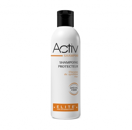 Activ shampoo, entretien perruque synthétique, elite hair international