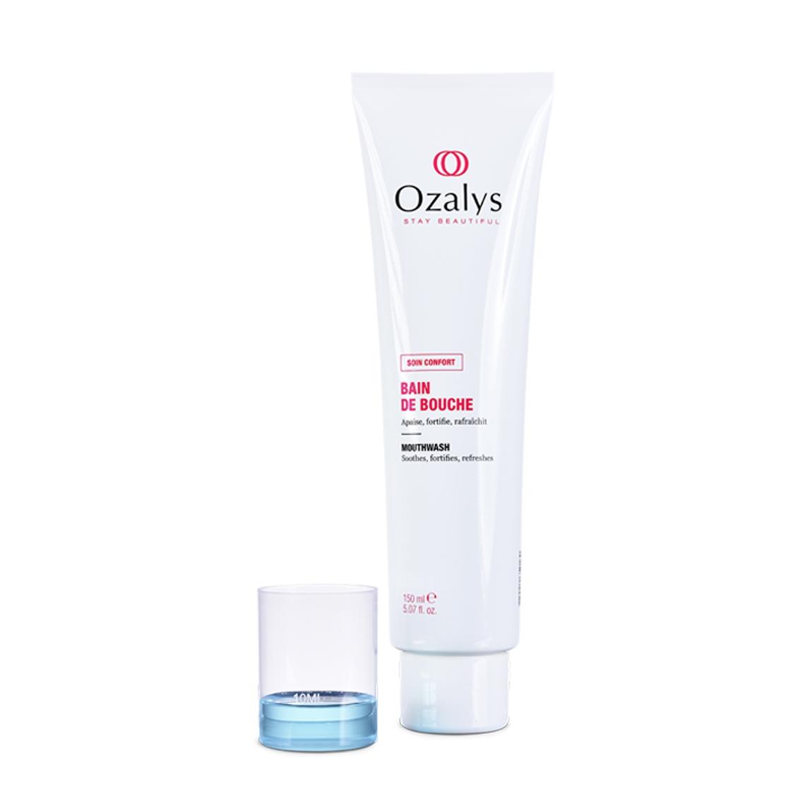 Bain de bouche, cosmétique cancer, ozalys