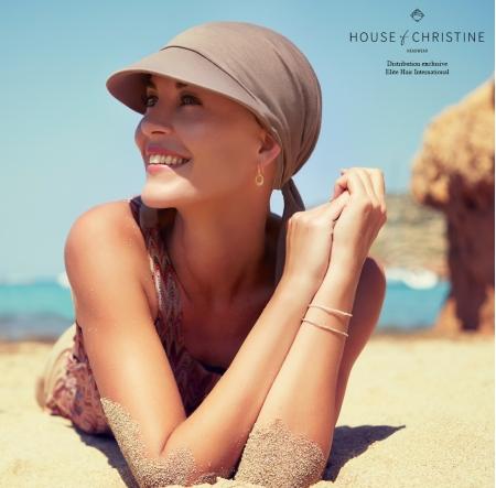Bandana chimio soft line sun, tan, christine headwear