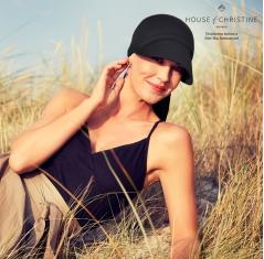 Bandana chimio soft line sun, onyx, christine headwear
