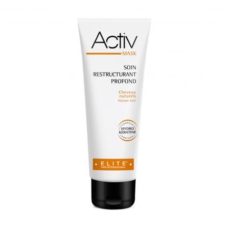 Packaging Activ Mask de la ligne Activ d'Elite Hair International