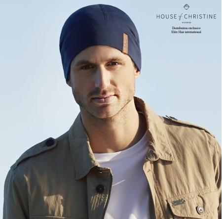 Bonnet chimio, bonnet homme 37.5, minéral, christine headwear
