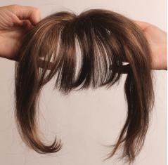 Frange, alternative perruque, elite hair international