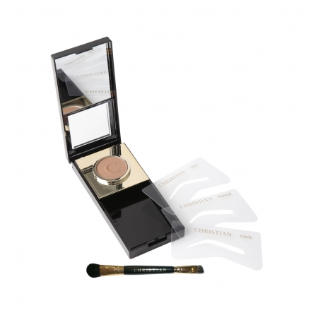 Kit make up sourcils, maquillage semi permanent cancer, christian cosmetics