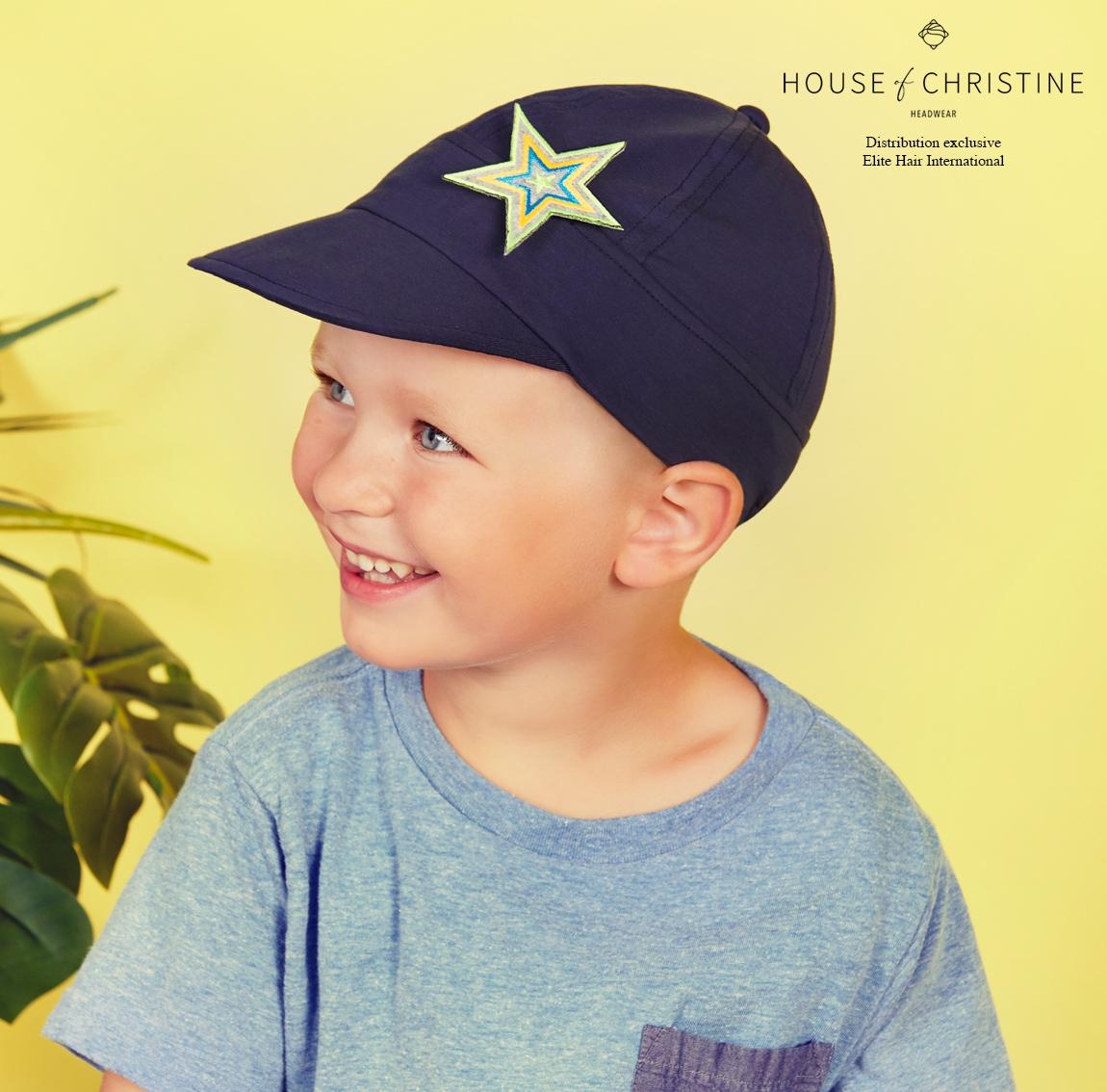 Casquette chimio, casquette solaire kid, casquette enfants, nemo, protection anti-UV UPF 50+, Christine Headwear