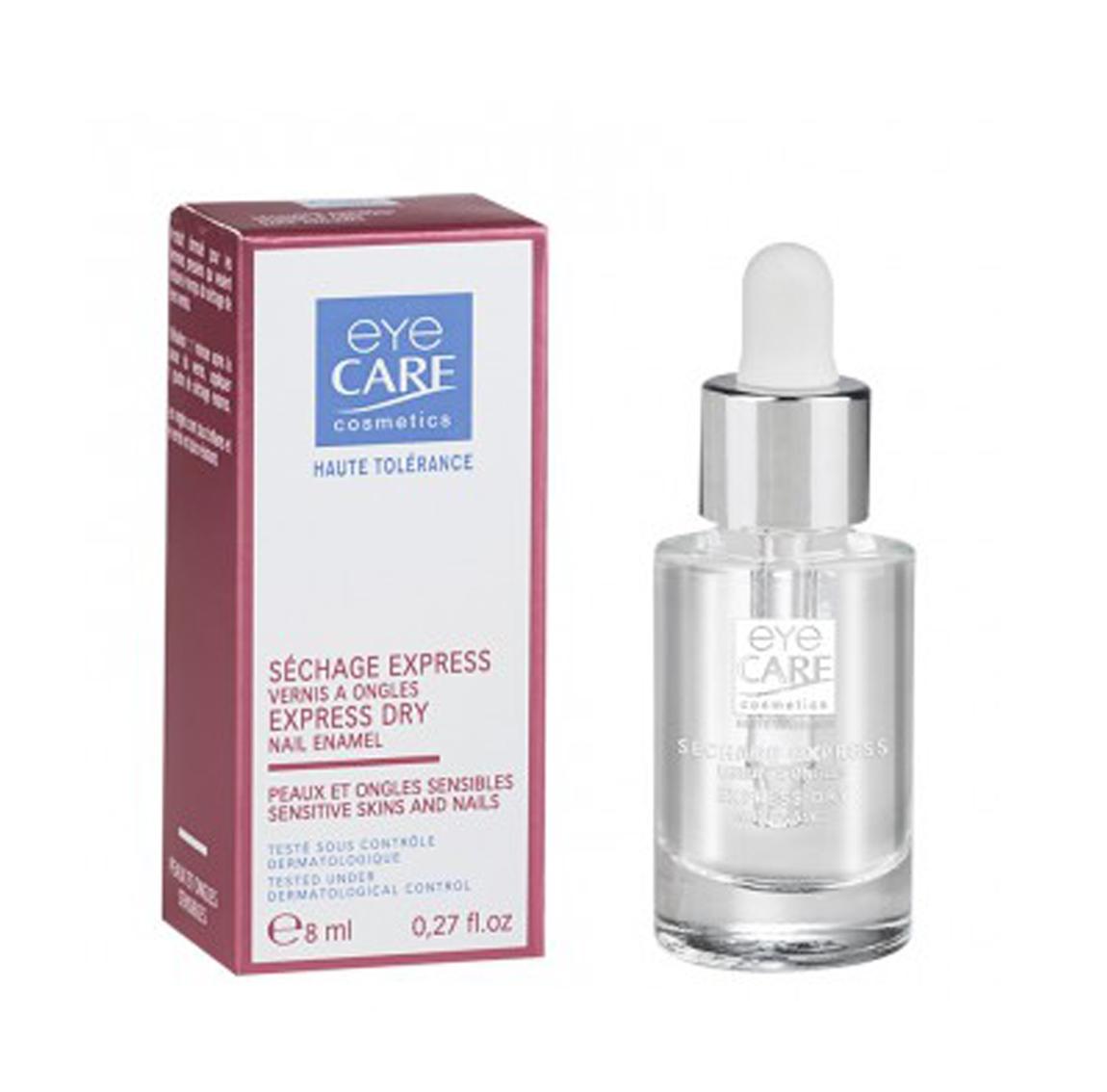 soin des ongles, goutte séchage, huile séchage, soin des ongles haute tolérance, Eye Care Cosmetics