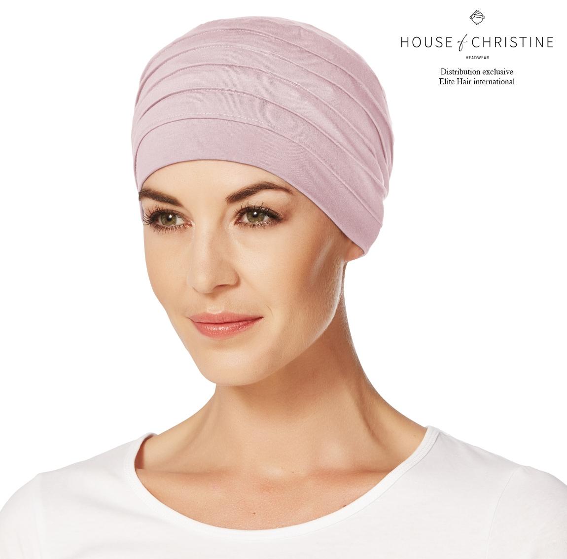 Bonnet chimio, bonnet zen bambou, cocoon, Christine Headwear