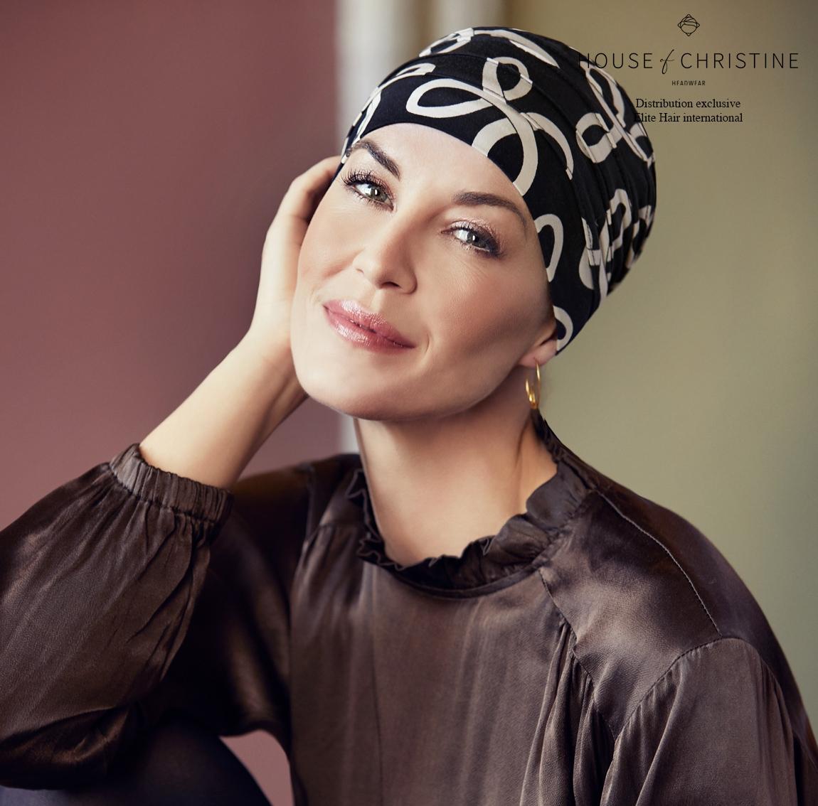 Bonnet chimio, bonnet zen bambou, dolce vita, Christine Headwear