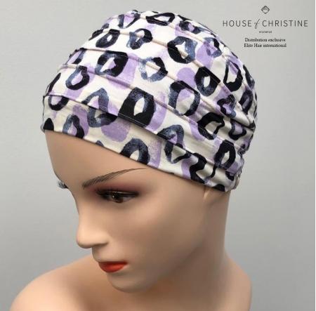 Bonnet chimio, bonnet zen bambou, mambo, Christine Headwear
