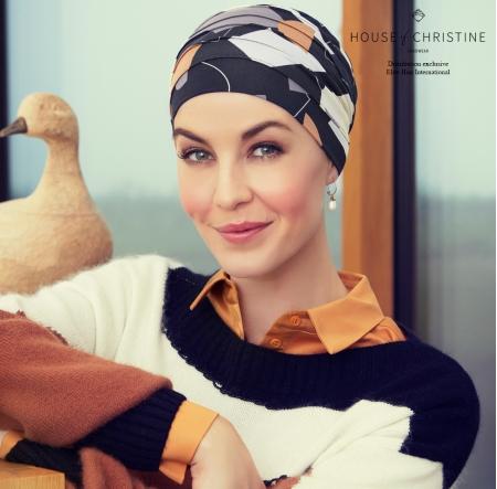 Bonnet chimio, bonnet zen bambou, moody, Christine Headwear