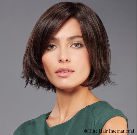 Portrait femme perruque imprévu, cheveux synthètiques, elite hair international